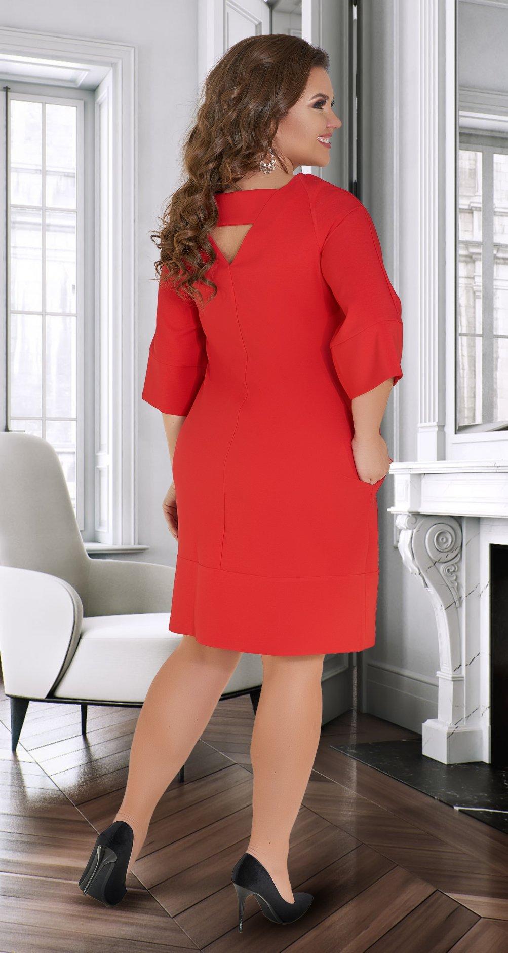 cbc7d43ca46 ... Лаконичное платье с красивой спинкой № 34511