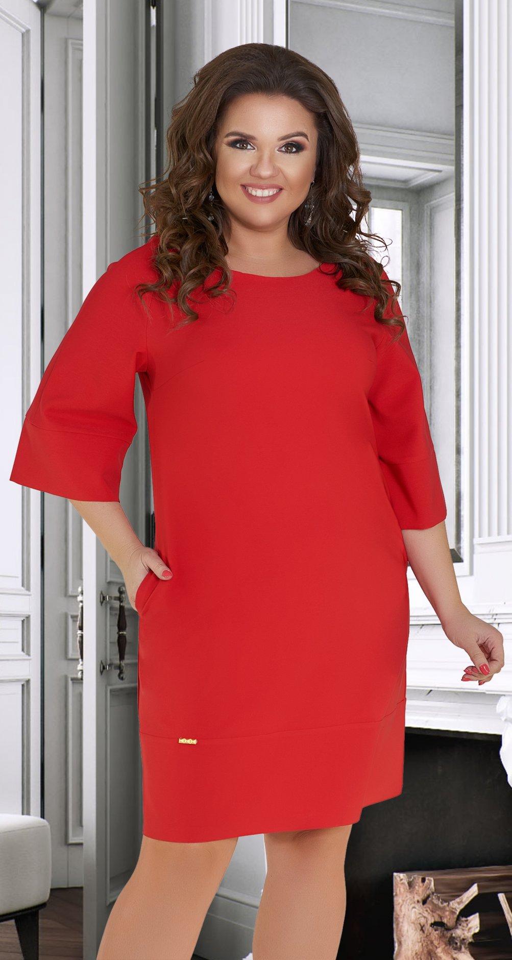 9598e2f6d5e Лаконичное платье с красивой спинкой № 34511